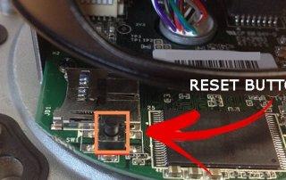 کلید ریست دوربین هایک ویژن