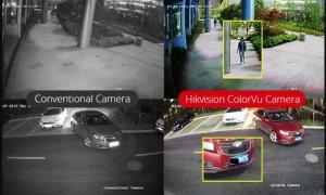 تفاوت دوربین مداربسته دید در شب هایک ویژن با نسخه عادی