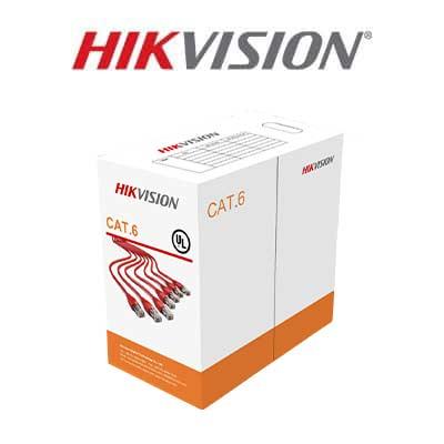 کابل شبکه هایک ویژن CAT6 مدل DS-1LN6-UU